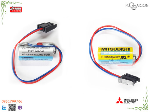 Pin PLC Mitsubishi-MR-BAT