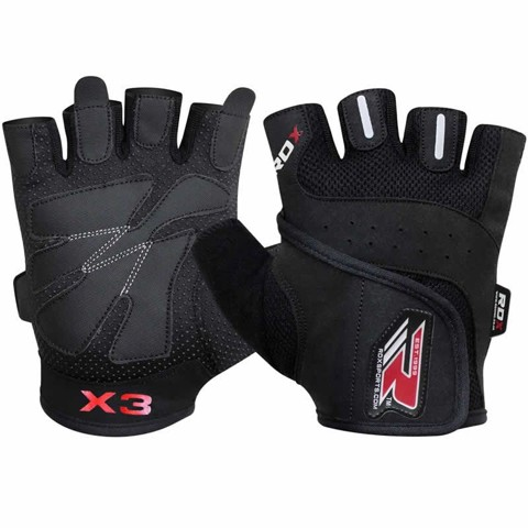 GĂNG TAY RDX AMARA BODYBUILDING WEIGHT LIFTING GLOVES