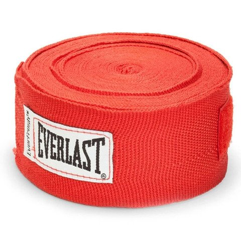 Băng Quấn Tay Everlast Professional Hand Wraps 180 Red - Co Giãn