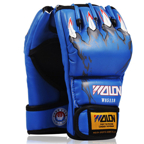 GĂNG TAY WOLON MMA CLAWS - BLUE