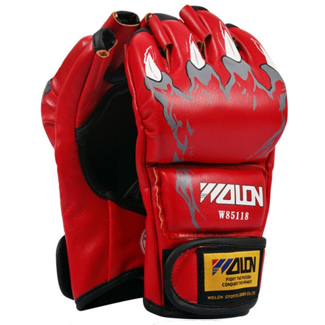 Găng Tay Wolon Mma Claws - Red