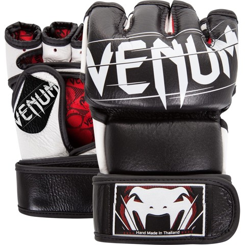 GĂNG TAY VENUM UNDISPUTED 2.0 MMA GLOVES - BLACK
