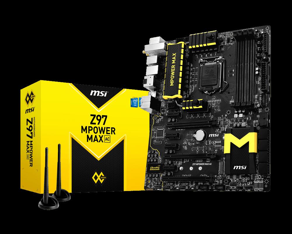 MSI Z97 MPower MAX AC
