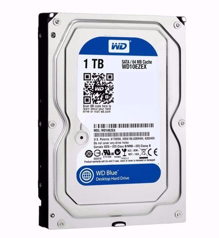 WD HDD 1TB Blue 7200rpm