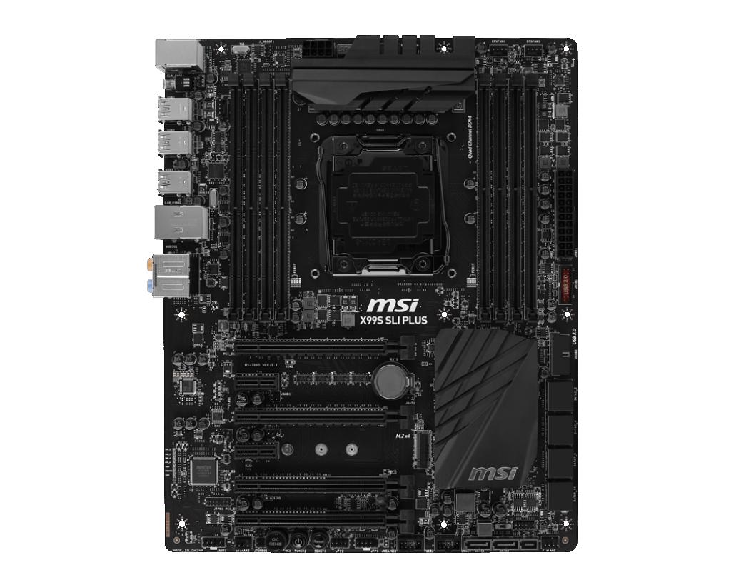 MSI X99A SLI Plus