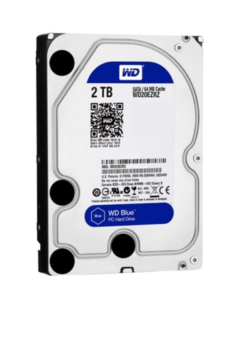 WD HDD 2TB Blue 5400rpm