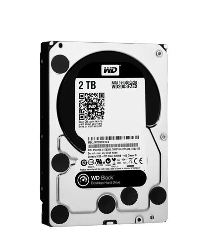 WD HDD 2TB Black 7200rpm