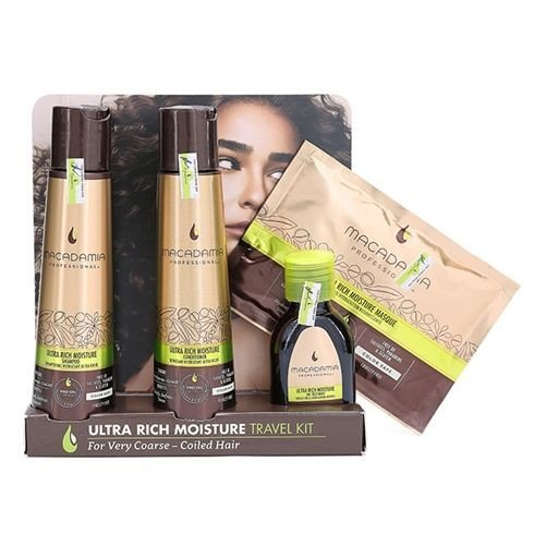 Macadamia Siêu Mượt (Travel Set Ultra Rich Moisture)