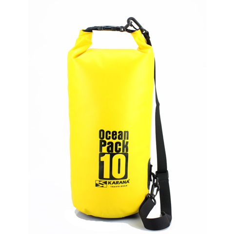Ocean Pack Dry Bag 10L Yellow