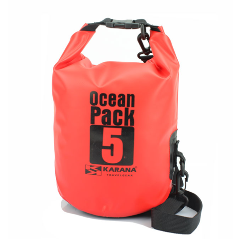 Ocean Pack Dry Bag 5L Red