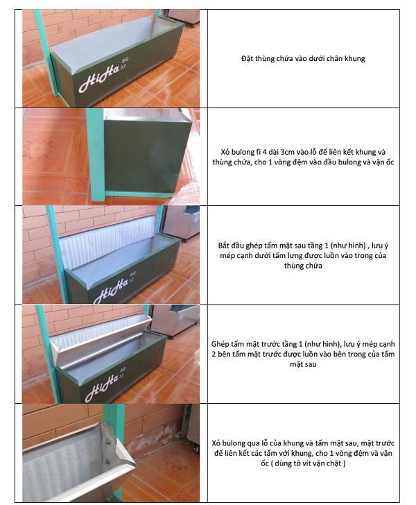 Bước 4 lắp đặt hệ thống trồng rau thủy canh tại nhà