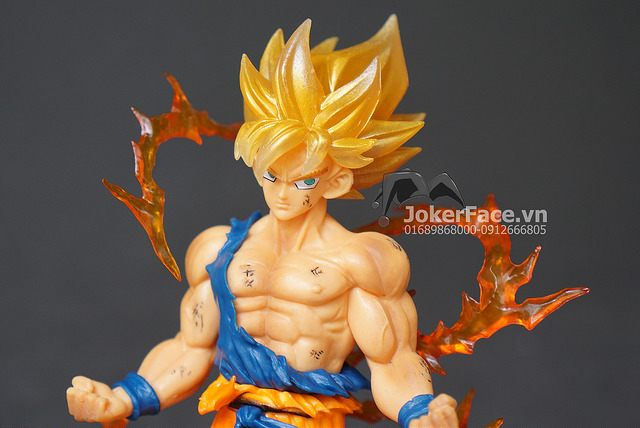 Mô hình Son Goku (Super Saiyan battle ver.) - Dragon Ball