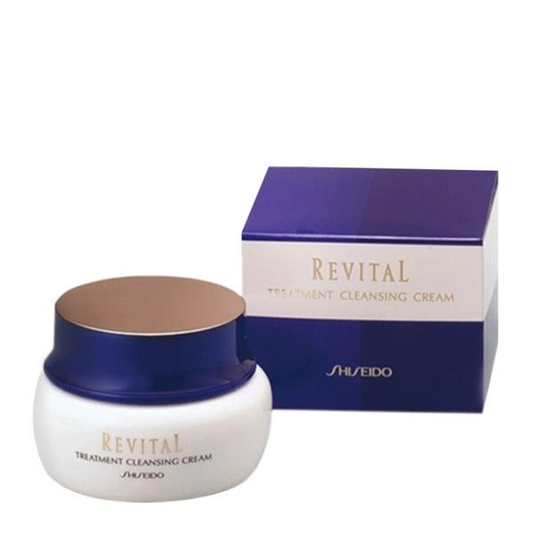 kem tay trang shiseido revital treatment cleansing cream