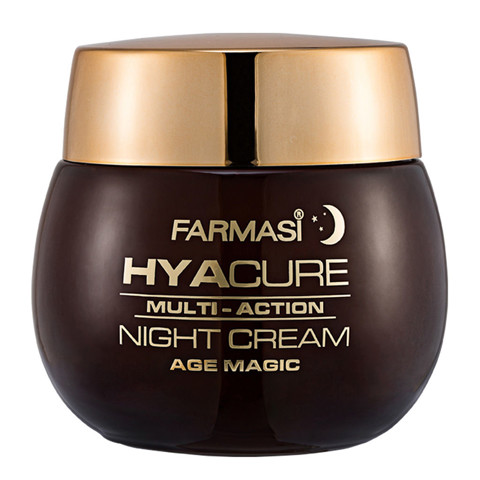kem chong lao hoa trang da ban dem farmasi do tuoi 45 farmasi hyacure age magic night cream
