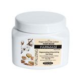 mat na toc farmasi hair mask argan silk cotton