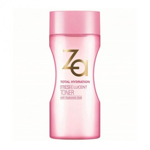 nuoc se khit lo chan long za total hydration fresh lucent toner