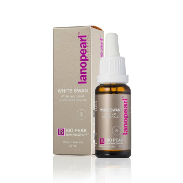 Lanopearl White Swan Whitening Serum 25ml