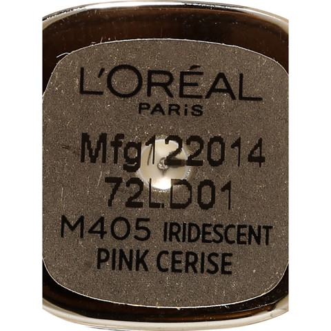 son mau min moi loreal color riche m405 do cherry quyen ru