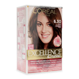 thuoc nhuom toc l oreal excellence creme 6.30 nau anh vang