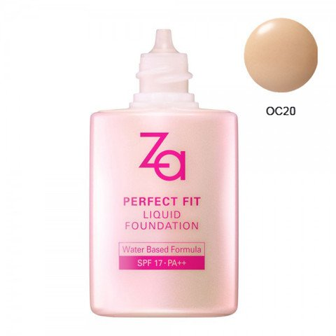 phan nen dang long za perfect fit liquid foundation oc20 30ml