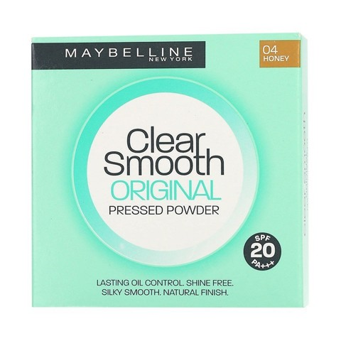 maybelline clear smooth original pressed powder honey