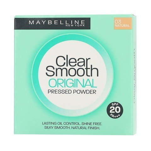 phan trang diem min da chong nhon maybelline clear smooth original pressed powder natural