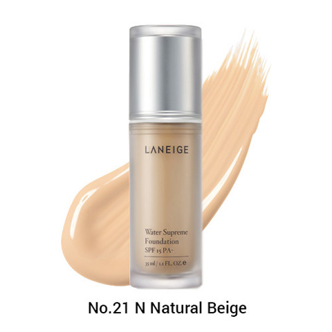 kem nen duong am cao cap spf 15 pa laneige water supreme foundation no 21n natural beige