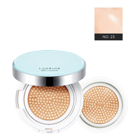 phan nuoc can bang dau laneige bb cushion pore control spf50 pa no 23 sand beige