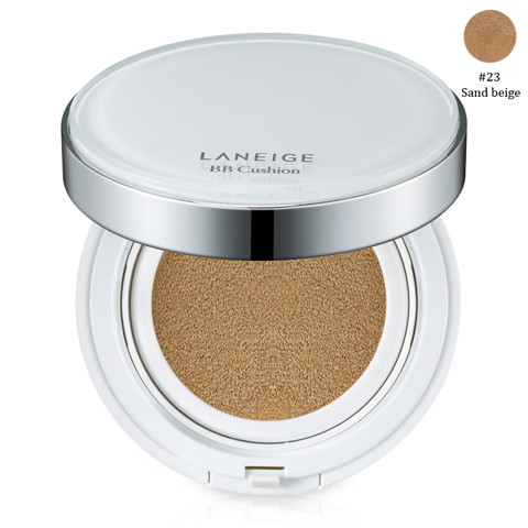 phan nuoc duong trang laneige bb cushion whitening spf50 pa no 23 sand beige