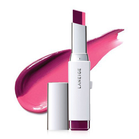 son hai tong mau noi bat laneige two tone lip bar no9 dolly grape