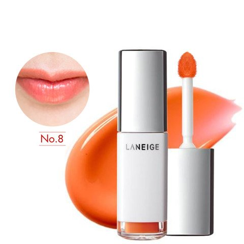 son nuoc duong am laneige water drop tint no 8 peach coral 2