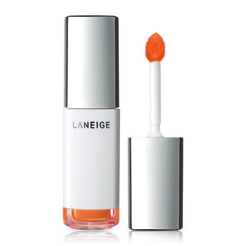 son nuoc duong am laneige water drop tint no 8 peach coral