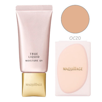 kem nen shiseido maquillage true liquid moisture uv oc20