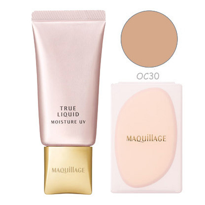 kem nen shiseido maquillage true liquid moisture uv oc30