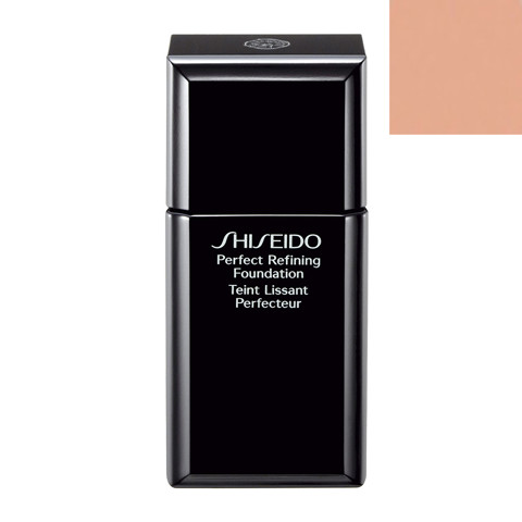 Kem Nen Shiseido Perfect Refining Foundation B20 Natural Light Beige