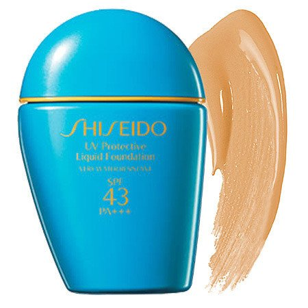 kem nen shiseido uv protective liquid foundation medium ivory