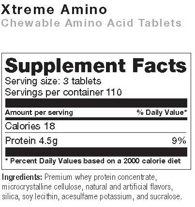 extreme amino supplement