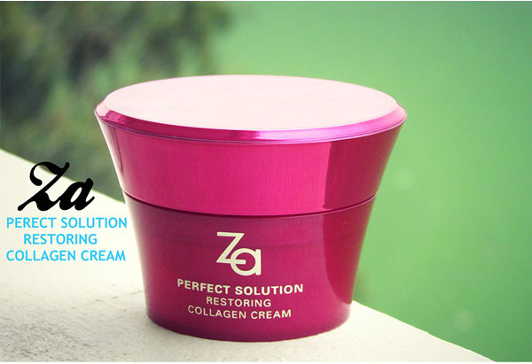 kem duong da za perfect solution restoring collagen cream