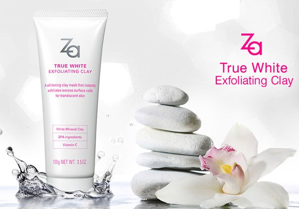 Za True White Ex Exfoliating Clay