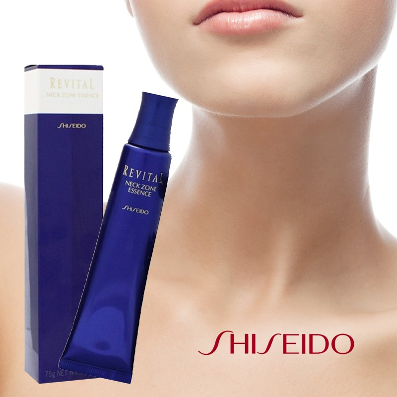 tinh chat duong da vung co shiseido revital neck zone essence