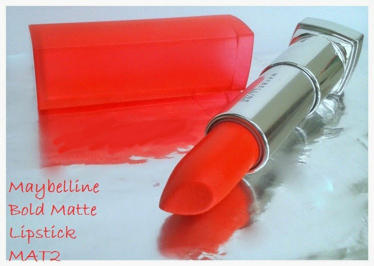 Maybelline Bold Matte Mat 2 Coral 326