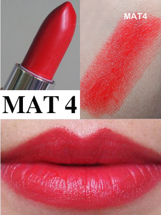 son maybelline bold matte mat 4 red 688