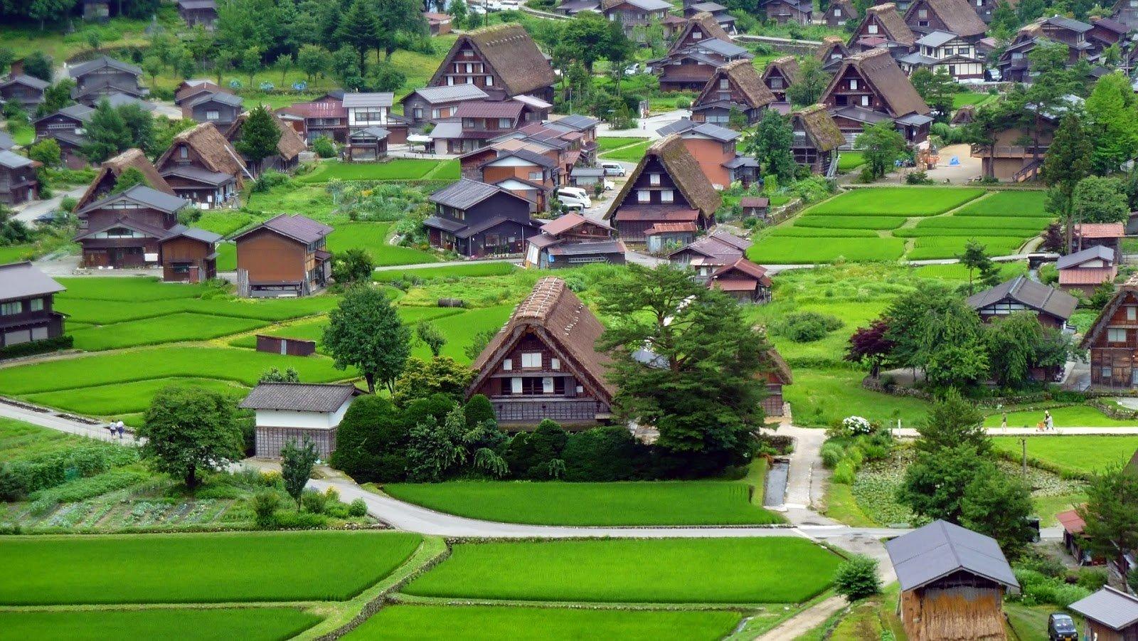 Kết quả hình ảnh cho Làng lịch sử Shirakawa-Go và Gokayama