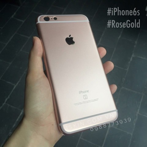 OL IP5/5s giống iPhone 6s Rose Gold
