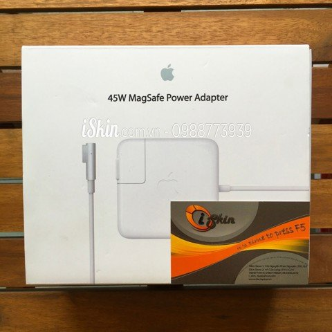 Adapter Sạc Macbook Air 45W Magsafe 1 Zin Foxconn (Full Box)