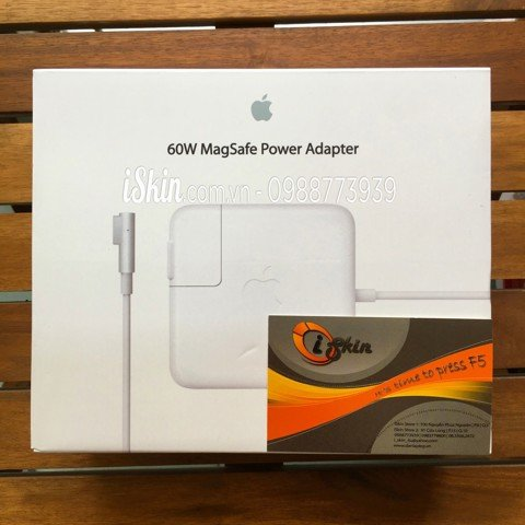 Adapter Sạc Macbook Pro 60W Magsafe 1 Zin Foxconn (Full Box)
