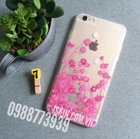 Ốp lưng Iphone 6/6s Plus Silicon dẻo trong ánh 7 màu, Chibi đẹp dễ thương Giá rẻ TpHcm