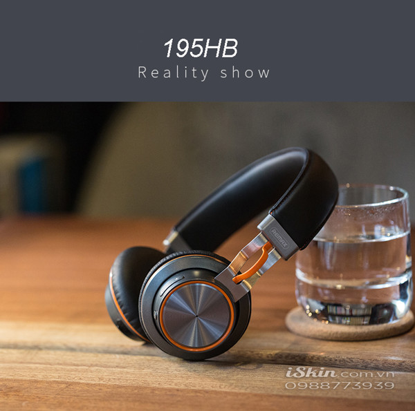 Tai Nghe Headphone Bluetooth Remax RB-195HB