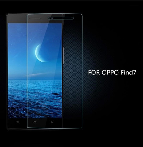 Oppo Find 7/ Find 7a - Kính cường lực mặt trước (Trong suốt)