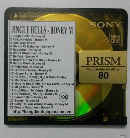 100. JINGLE BELL - BONEY M